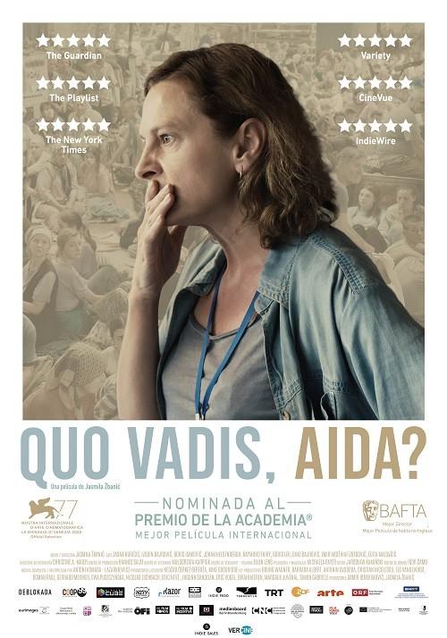 Cartel de Quo vadis, Aida?