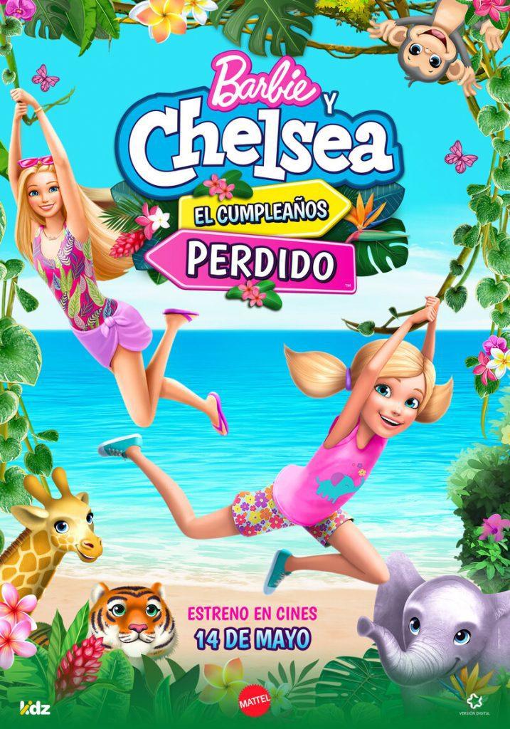 Cartel de Barbie y Chelsea, el cumpleaños perdido