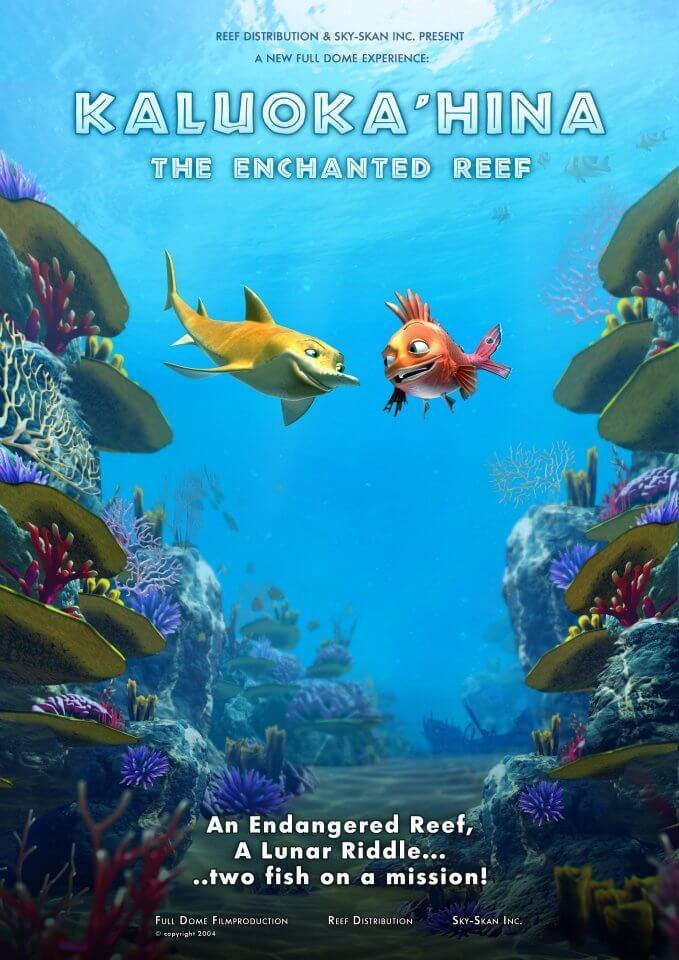 Cartel de El arrecife encantado: Kaluoka'hina
