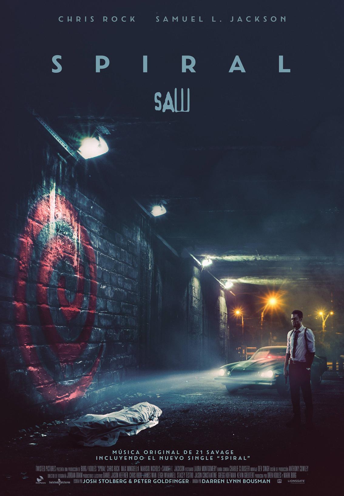 Cartel de Spiral: Saw