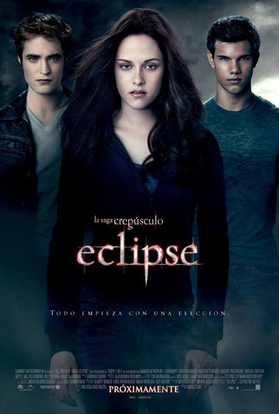 Cartel de La saga Crepúsculo: Eclipse
