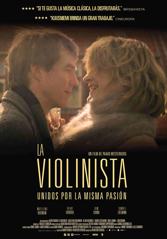 Cartel de La violinista