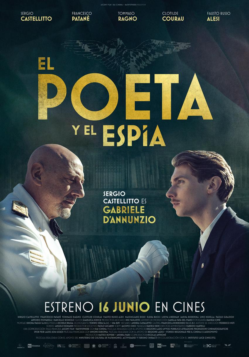 Cartel de El poeta y el espía