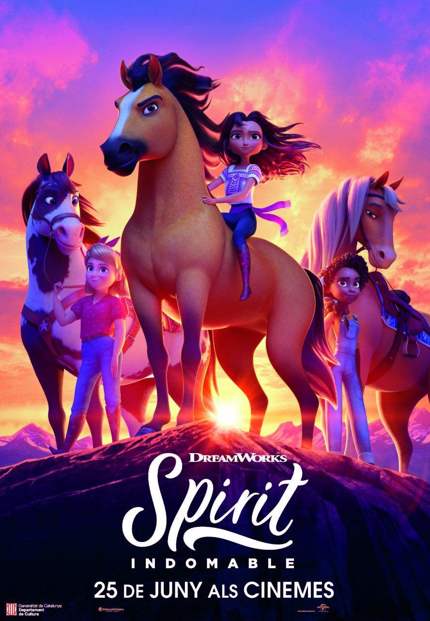 Cartel de Spirit: Indomable