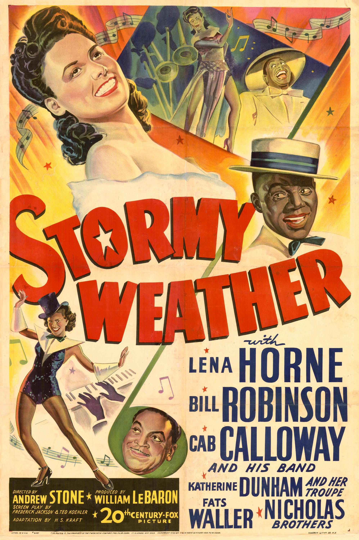 Cartel de Tiempo de tormenta