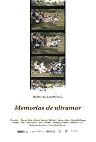 Cartel de Memorias de ultramar