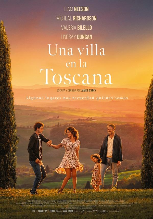 Cartel de Una villa en la Toscana