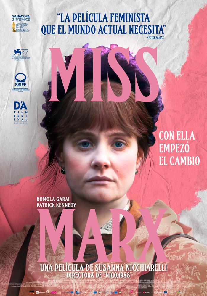 Cartel de Miss Marx