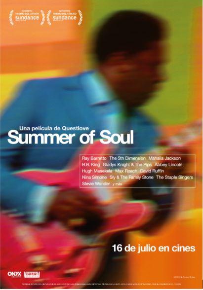 Cartel de Summer of Soul