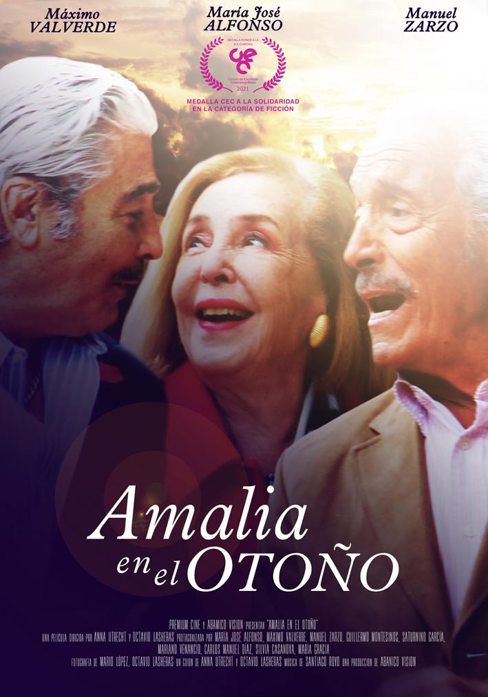 Cartel de Amalia en el otoño
