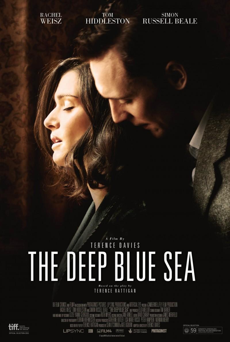 Cartel de The deep blue sea