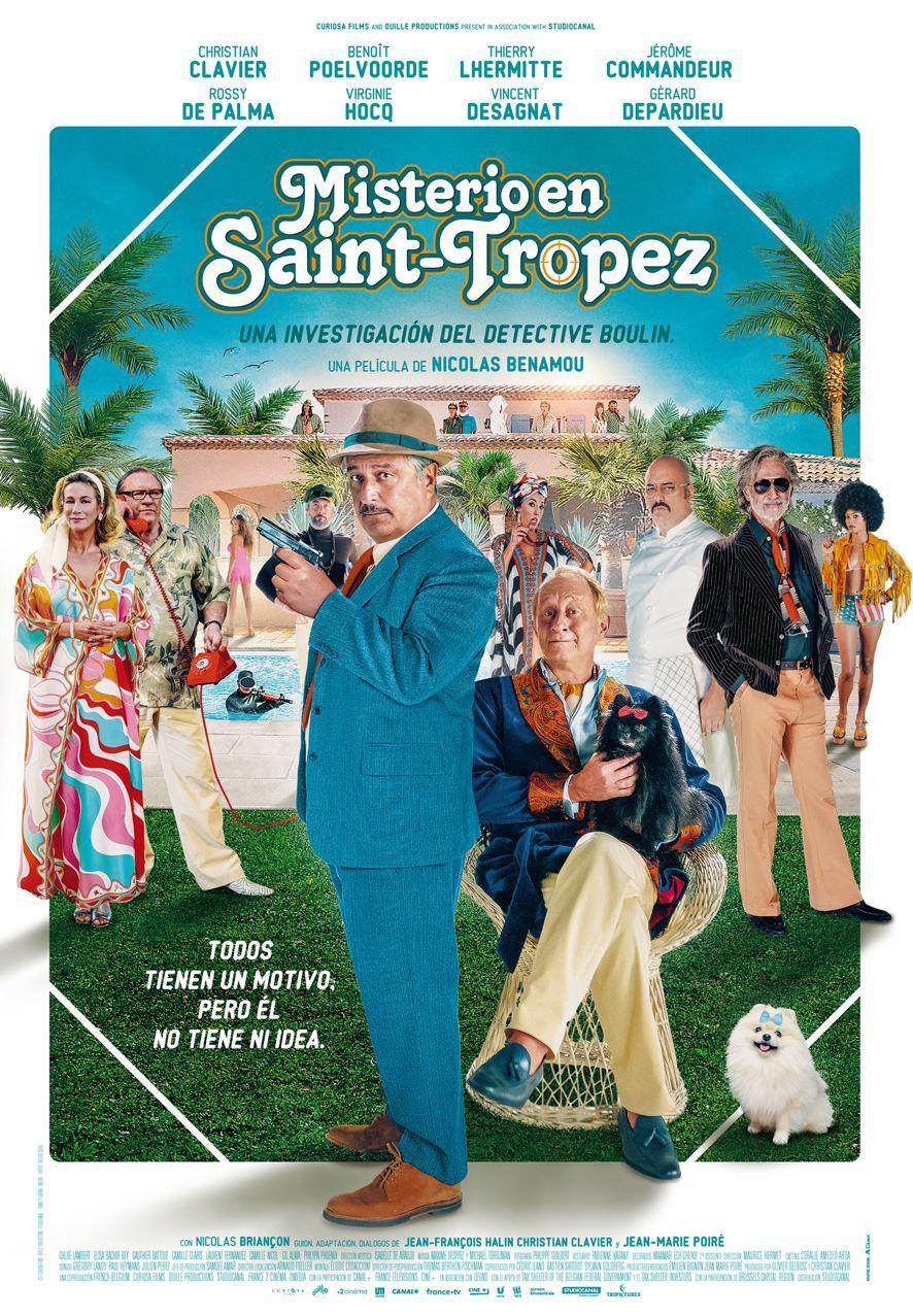 Cartel de Misterio en Saint-Tropez