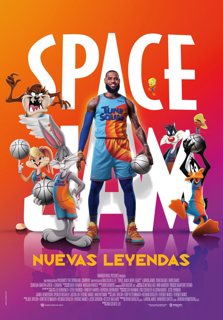 Cartel de Space Jam: Nuevas leyendas