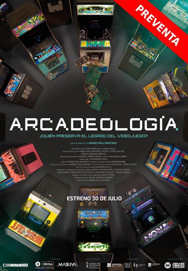 Cartel de Arcadeología