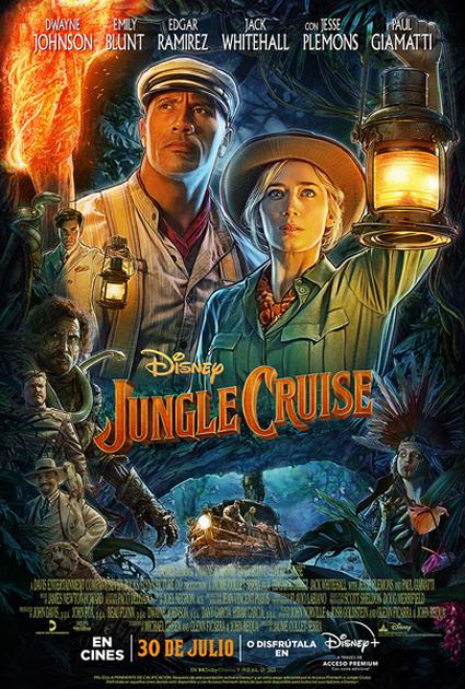 Cartel de Jungle Cruise