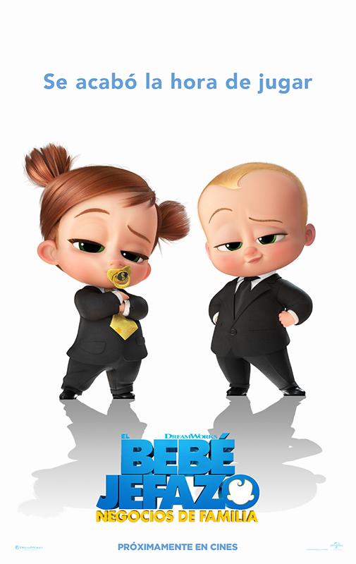 Cartel de El bebé jefazo: negocios de familia