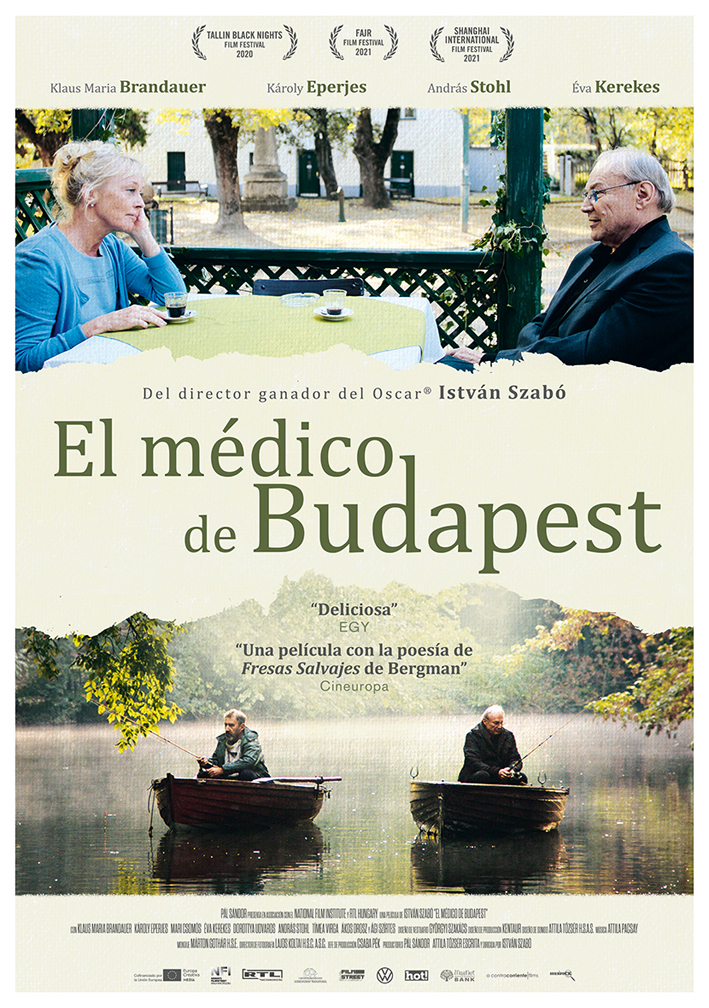 Cartel de El médico de Budapest