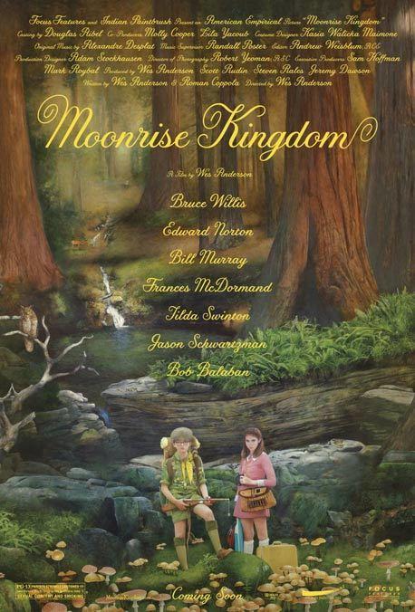 Cartel de Moonrise Kingdom