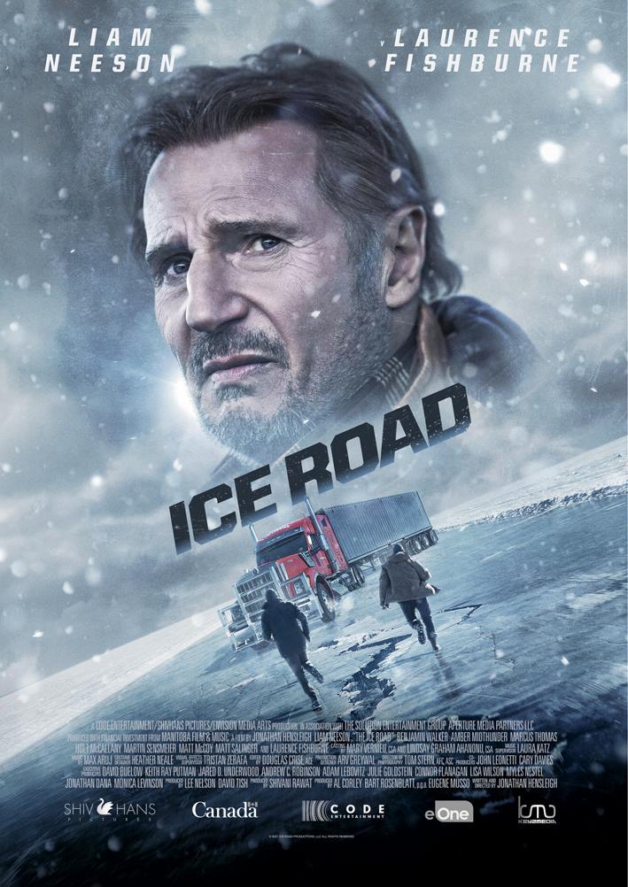 Cartel de Ice Road