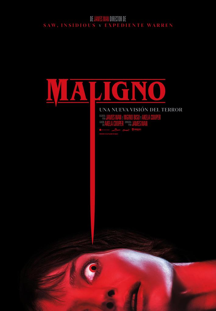 Cartel de Maligno