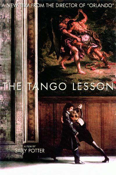 Cartel de La lección de tango