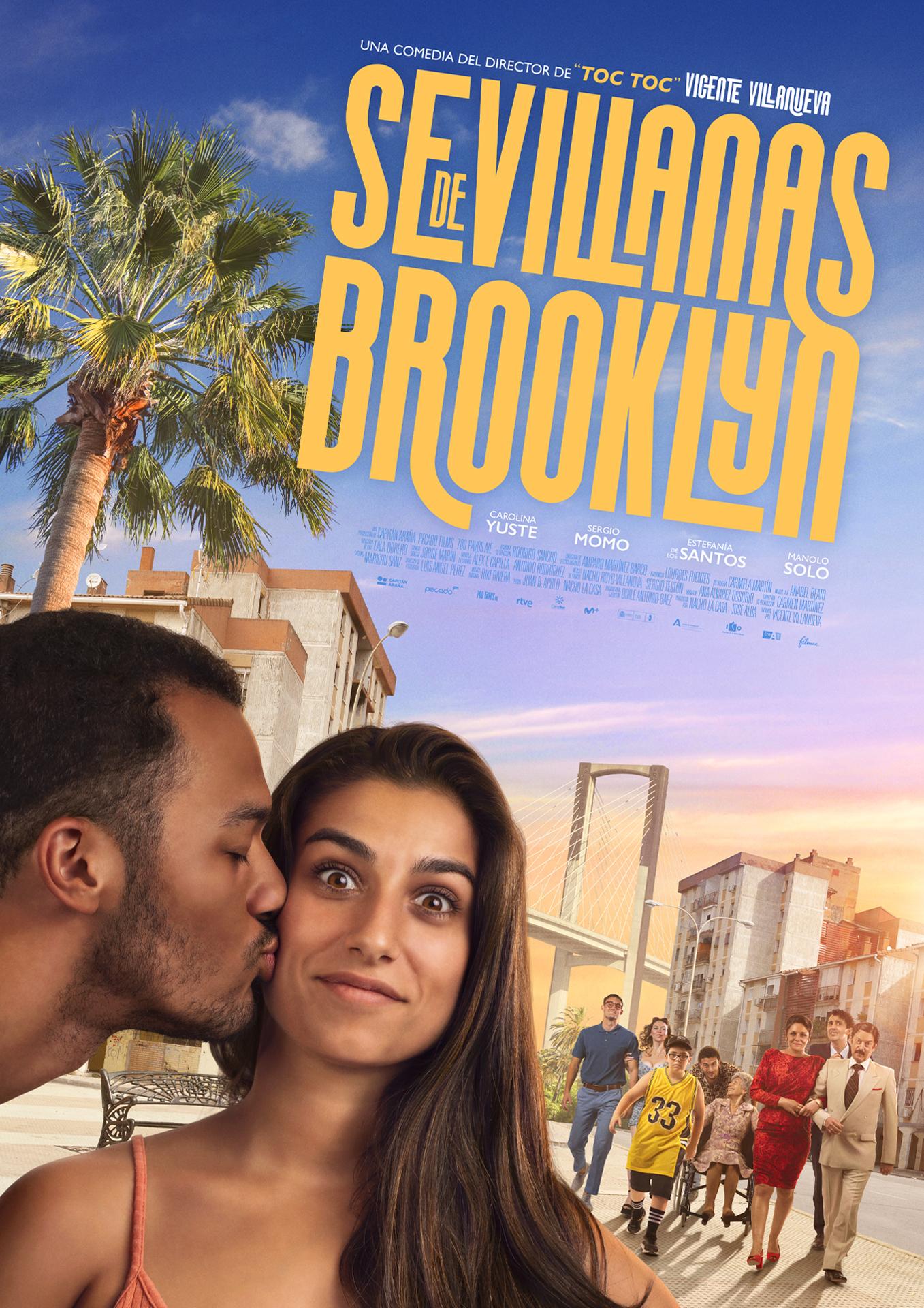 Cartel de Sevillanas de Brooklyn