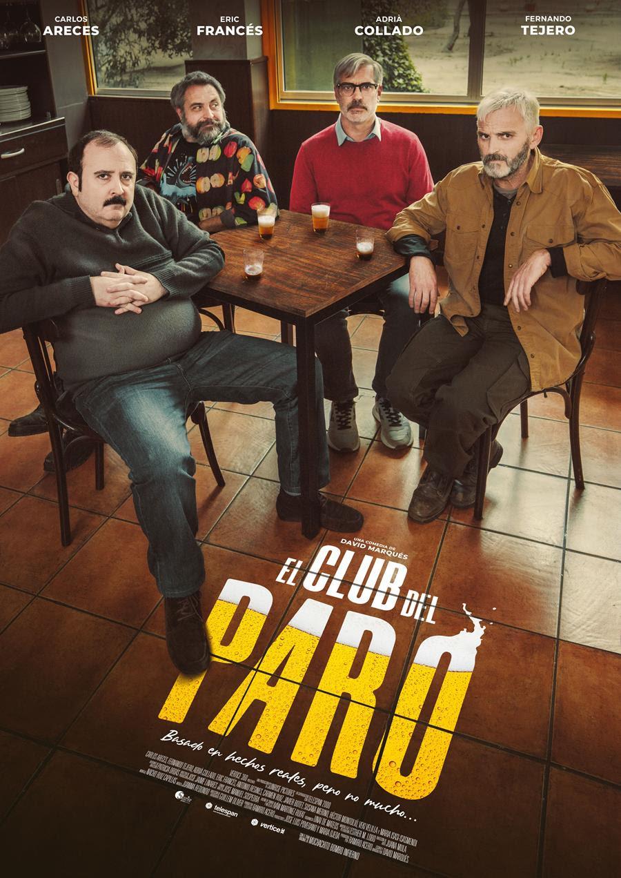 Cartel de El club del paro