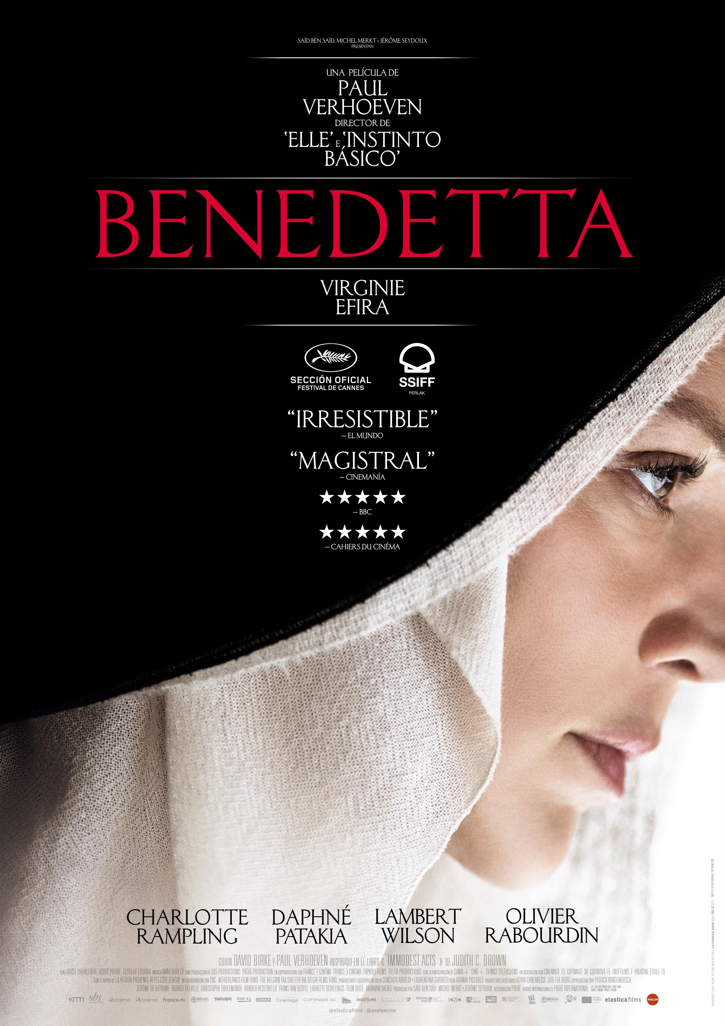 Cartel de Benedetta