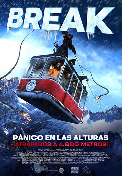 Cartel de Break, pánico en las alturas