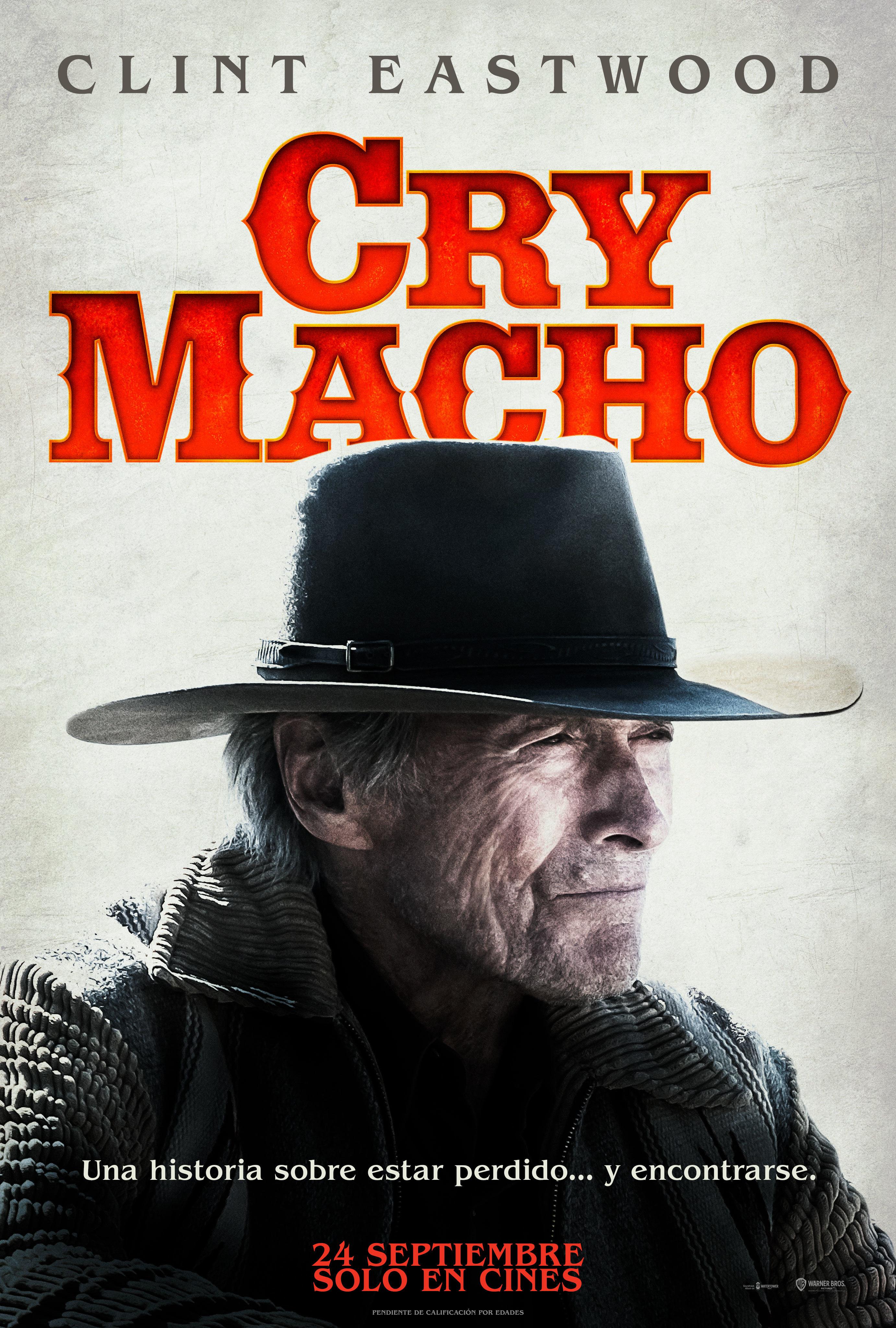 Cartel de Cry Macho