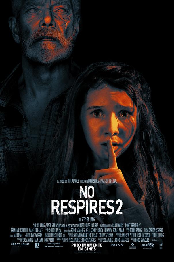 Cartel de No respires 2
