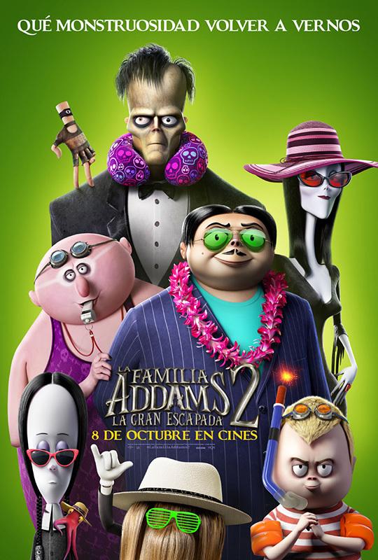 Cartel de La familia Addams 2: La gran escapada