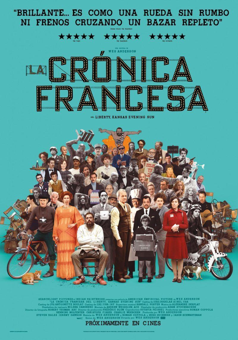 Cartel de La crónica francesa